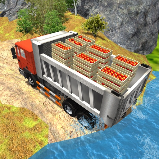 Offroad Fruit Delivery Truck