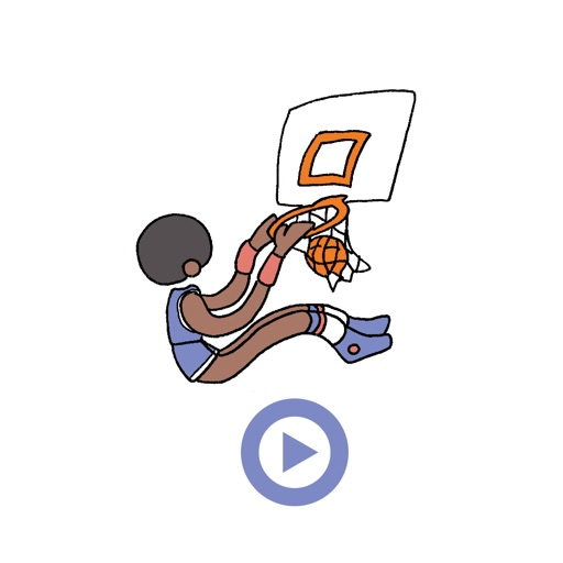 Basketball Animated Stickers
