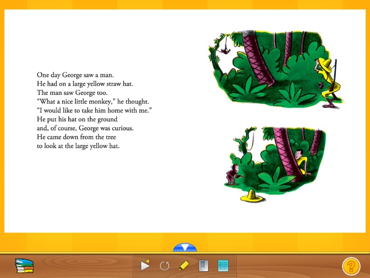 Curious George: Book Reader screenshot-3