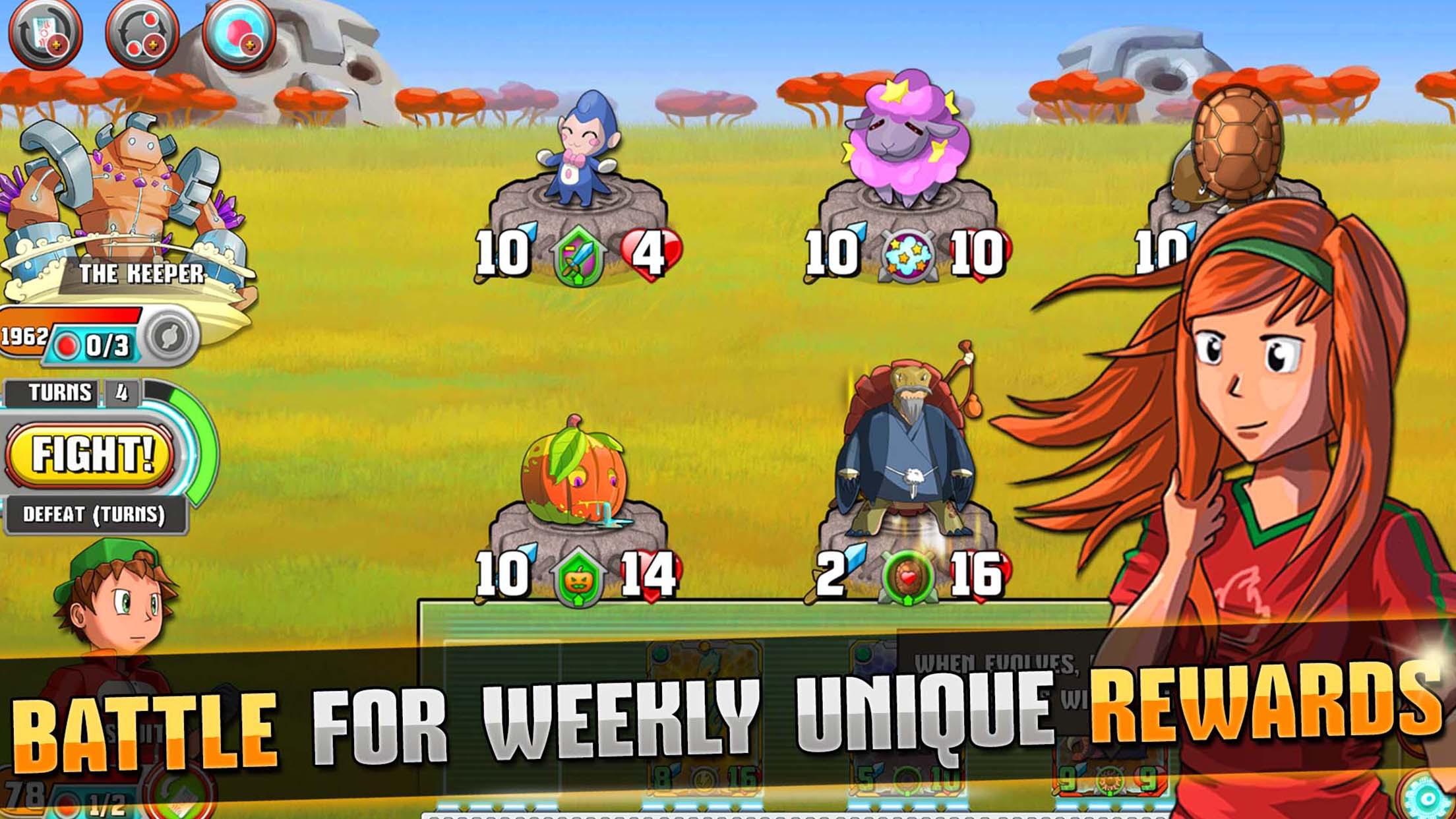 Monster Battles: TCG Screenshot