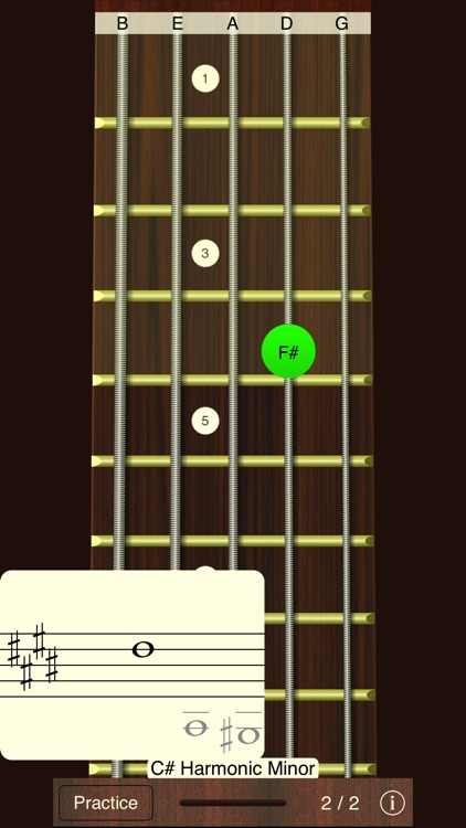 Bass Sight Reading Trainer screenshot-1