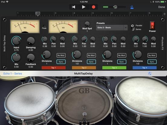 Multi-Tap Delay AUv3 Plugin screenshot 4