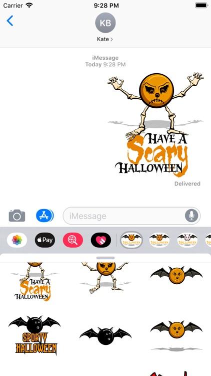 Bowling Halloween screenshot-4
