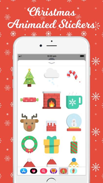 Christmas Animated Stickers