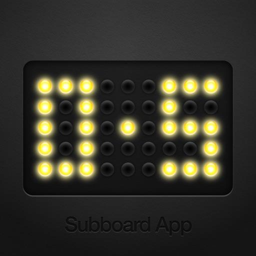 Subboard Football Scoreboard