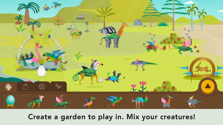 Creature Garden by Tinybop screenshot-3