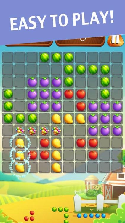 Classic Fruit Puzzle 10x10