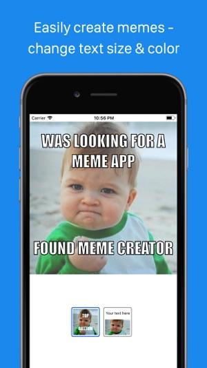 meme creator viewer on the app store