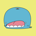 Goch the Whale Stickers