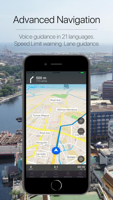 Philippines Navigation Screenshot