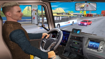 Real Truck Driver In Highway screenshot 1