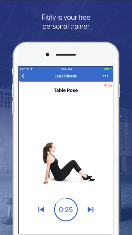 Legs & Butt Workouts by Fitify