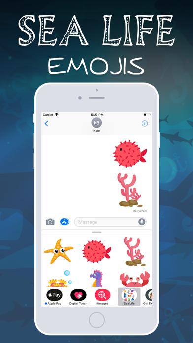 Sea Life Emojis screenshot four
