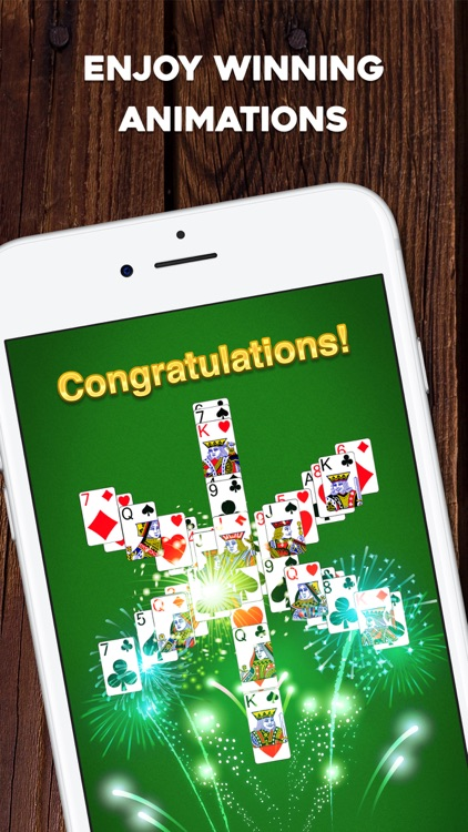 TriPeaks Solitaire: Card Game screenshot-3