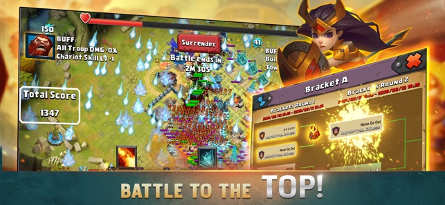clash of lords 2 how to get into hero bag