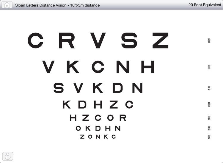 Near/Distance Vision Screening & Testing