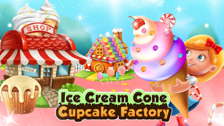 Ice Cream Cone Cupcake Factory screenshot-5