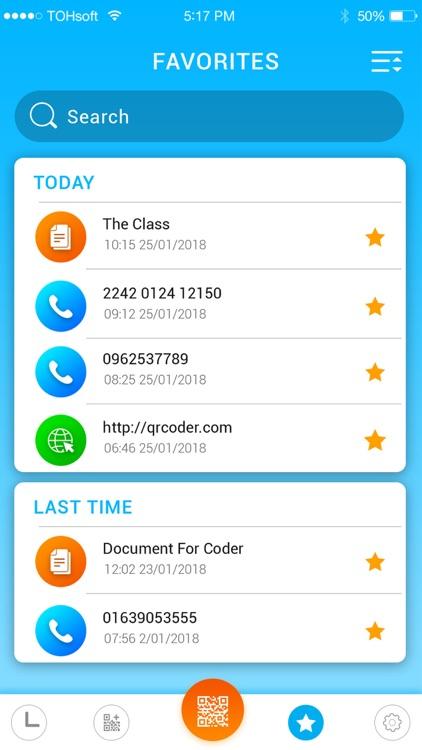 Barcode scanner & qr reader screenshot-5