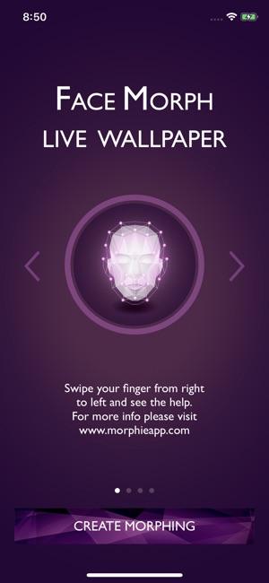 Face Morph Live Wallpaper En App Store