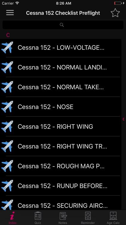 Cessna 152 Checklist Pilot screenshot-3