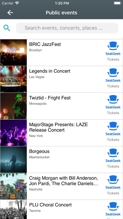 Gogotick - Events - Parties screenshot-8