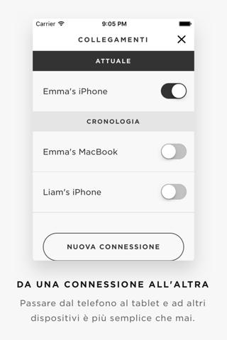 iPhone Schermata 2