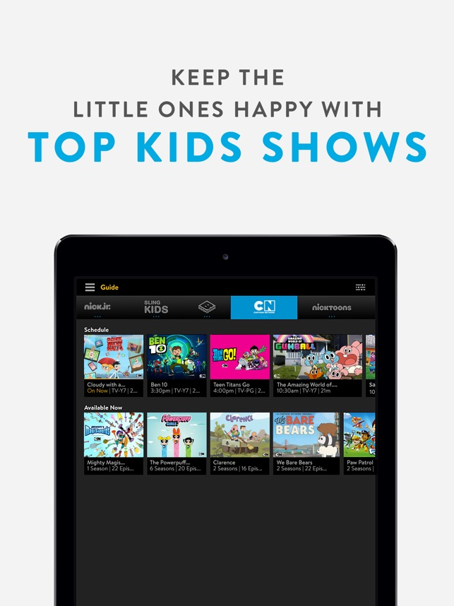 2084602b39  Sling TV  Stream Live TV now on the App Store