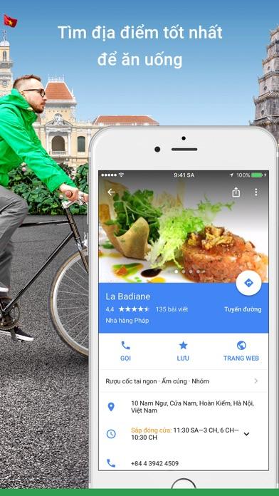 Screenshot for Google Maps in Viet Nam App Store