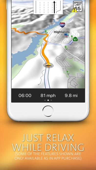 NAVIGON USA Screenshot 3