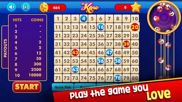 Keno: Lottery Casino Game screenshot-4