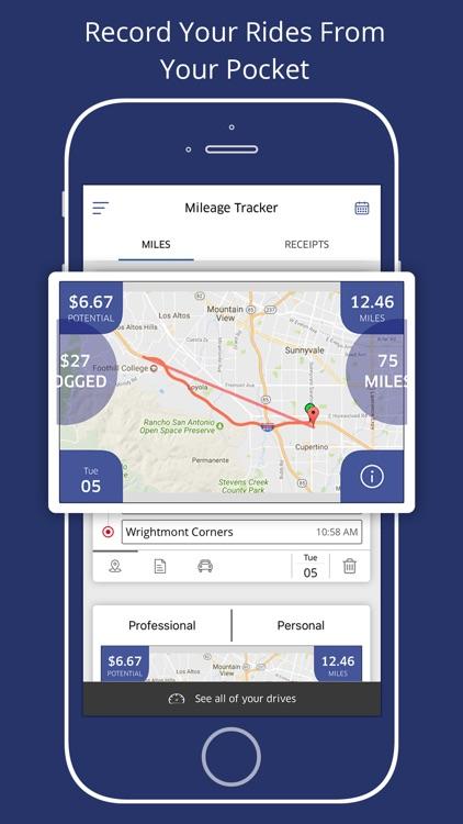 mileage expense tracker log by sleepapp
