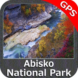 Abisko National Park GPS charts Navigator