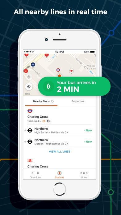 Moovit - Real-time public transport navigation Screenshot 2