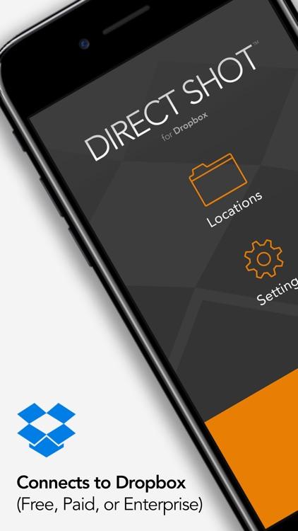 Direct Shot for Dropbox screenshot-0
