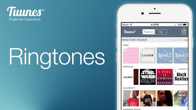 TUUNES™ Ringtones for iPhone screenshot-7