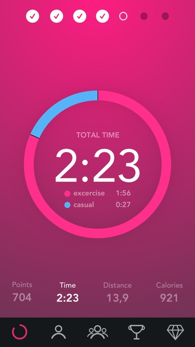 Fjuul - Healthy Activity Coach screenshot one