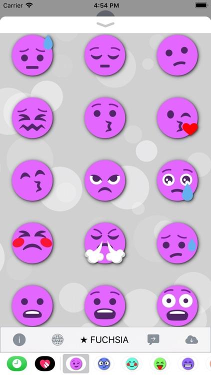 FUCHSIA Emoji • Stickers screenshot-3