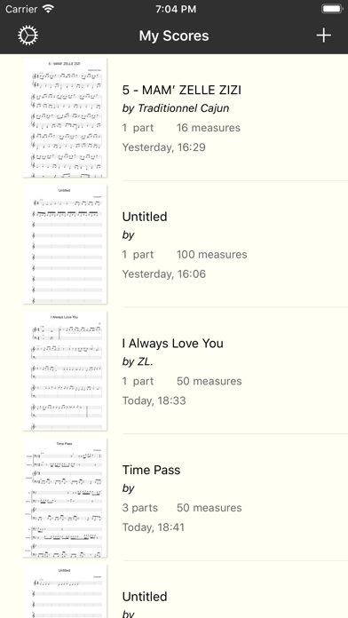 Piano+ Pro-Sheet Music Creator by Song Zhang (iOS, United States