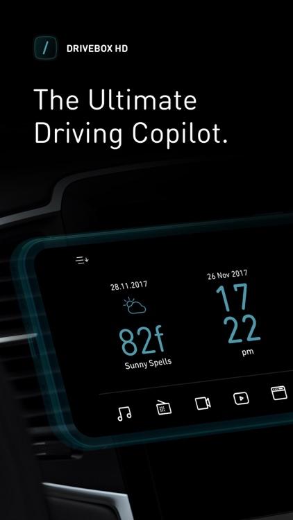 Drive Box HD - Car Stereo App