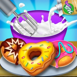 Donuts Cooking Factory