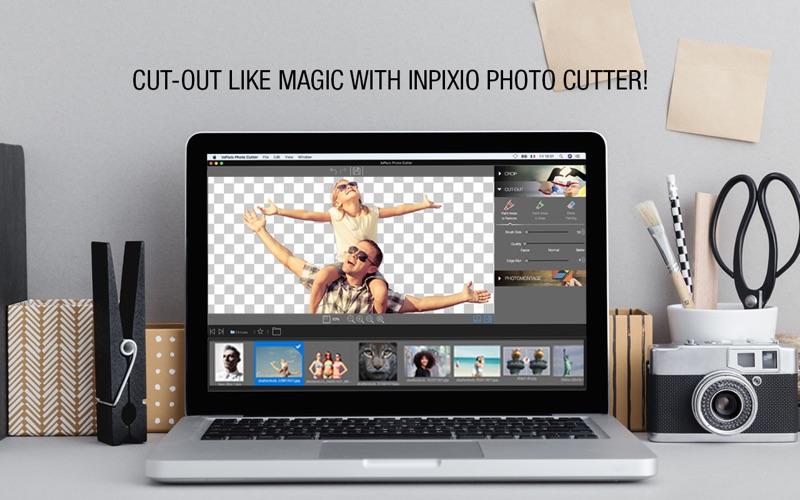 inPixio Photo Cutter Screenshots
