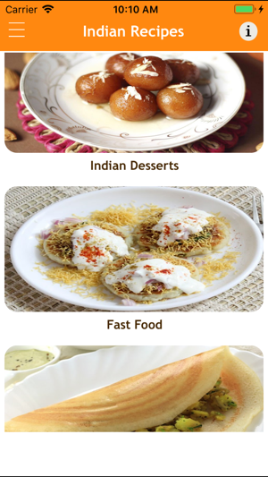 Indian recipes fast food 2018 on the app store forumfinder Image collections