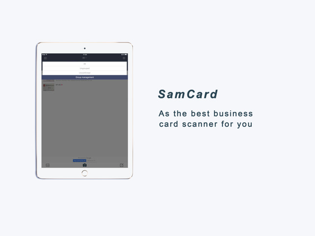 Business card scaner sam full on the app store iphone ipad reheart Image collections
