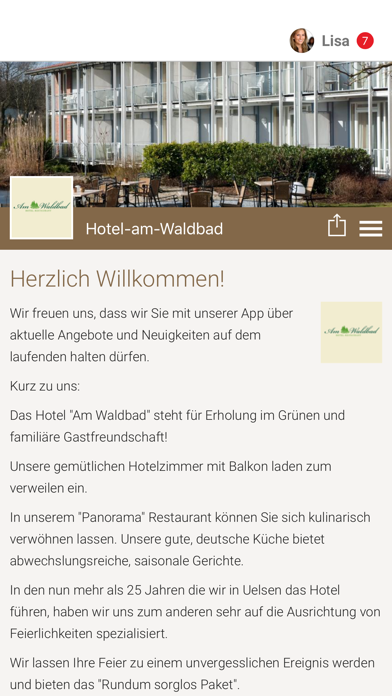 Hotel-am-Waldbad screenshot one