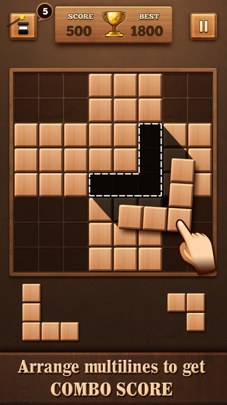 Fill Wooden Block Puzzle 8x8 Online Game Hack And Cheat Trycheatcom