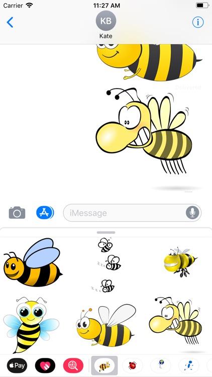 Honeybee Sticker Pack screenshot-8