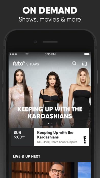 download fuboTV: Watch Live Sports & TV apps 8