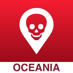 Poison Maps - Oceania