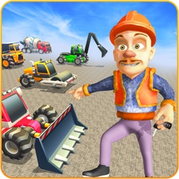 Heavy Construction Machines 3D