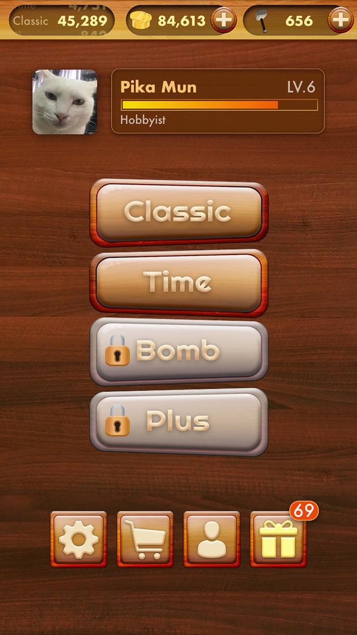 Wooden Block Puzzle Extreme Screenshot